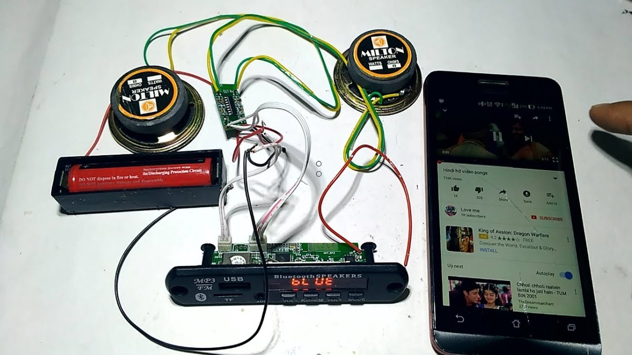 Bluetooth Speaker Wiring Diagram from i.ytimg.com