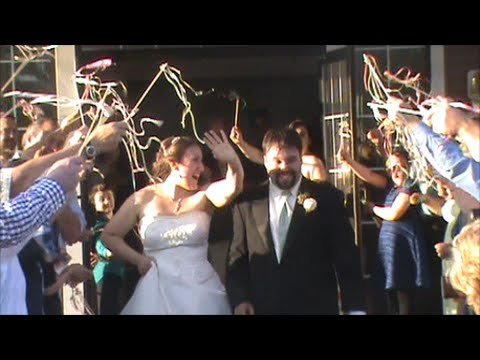 WEDDING DIY - GRAND EXIT RIBBON WANDS - YouTube