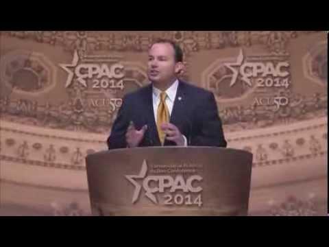 CPAC 2014 - U.S. Senator Mike Lee (R-UT)