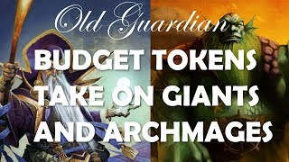 Budget Token Druid takes on Giants and Archmages (Hearthstone Rise of Shadows gameplay)