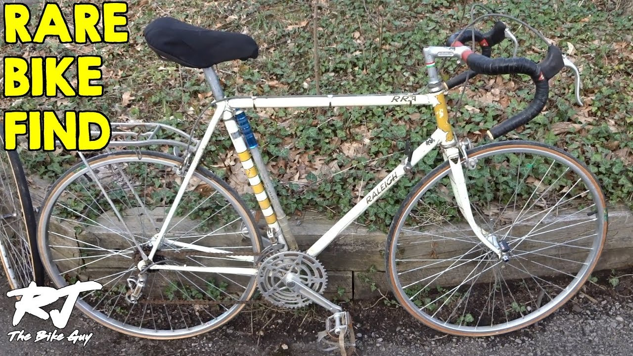 Craigslist Rare Bike Find - 1973 Raleigh RRA (Raleigh Record Ace)