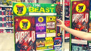THE BEAST FIREWORKS ASSORTMENT by Black Cat |  2021 Unboxing Fireworks!