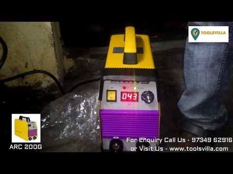 DIY Welding Machine ARC 200G Demo For Small Welding Work- Very Low Price | Call Now - 03436610100