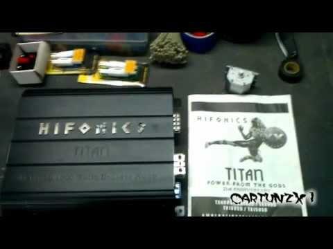 Product Info On Hifonics TX1005D