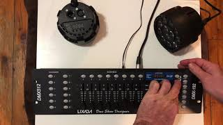 DMX 192 Controller Unboxing and Programming