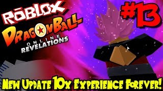 *NEW* UPDATE: 10X EXPERIENCE FOREVER + MORE!   Roblox: Dragon Ball Online Revelations - Episode 13