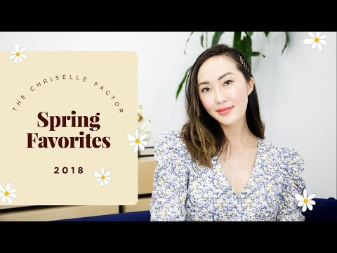 Spring Favorites 🌸 (Skincare, Beauty, Fashion, Baby) | Chriselle Lim