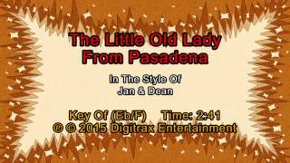 Jan & Dean - The Little Old Lady From Pasadena (Backing Track)