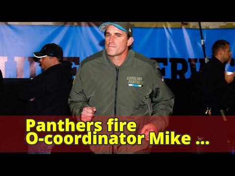 Panthers fire O-coordinator Mike Shula, QBs coach Ken Dorsey
