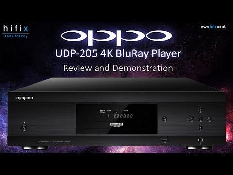 Oppo UDP205 UHD 4K BluRay Player Demonstration