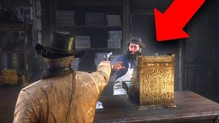 HOW TO ROB PEOPLE & HOLD UP STORES! | RED DEAD REDEMPTION 2 OUTLAW LIFE #2
