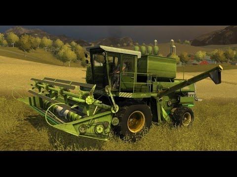 Farming Simulator 2013 Mods -  Combine Harvester DON 1500 A1