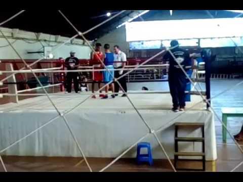 Ko Box - Torneo Provincial de Boxeo-Team Braganza Fight Club -Matias Duarte ko