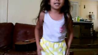 "Little cousin performing ""Want You Back"" by Cher"