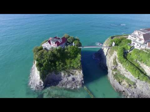 NEWQUAY CORNWALL Phantom 3 PRO Drone View