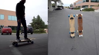 Riding the ZBoard 2 at CES!