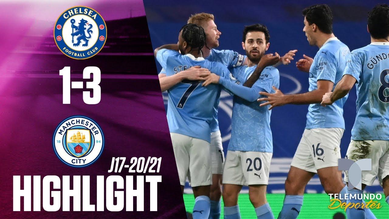 Highlights & Goals | Chelsea vs. Manchester City 1-3 | Telemundo Deportes