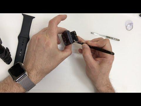 Замена стекла эпл вотч 3 (Apple Watch 3)