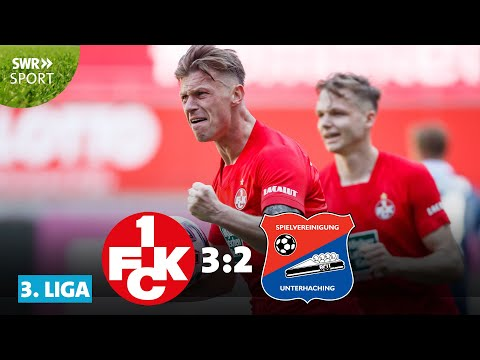 3. Liga: 3 Tore in 3 Minuten - 1. FC Kaiserslautern vs. SpVgg Unterhaching | SWR Sport