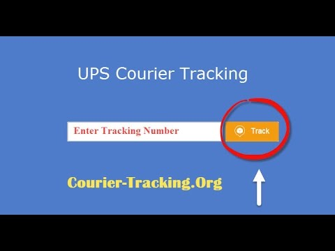 UPS Courier Tracking Guide
