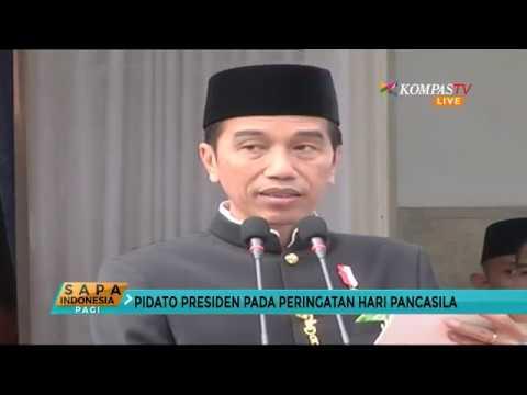 Presiden Jokowi: Selamat Hari Lahir Pancasila