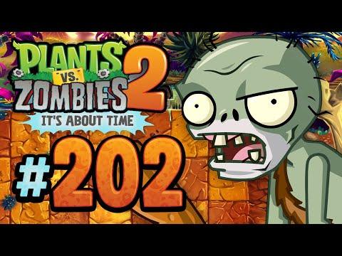 Plants vs. Zombies 2: It's About Time | Rotobonkers - Jurassic Marsh - 202 (iOS Walkthrough)