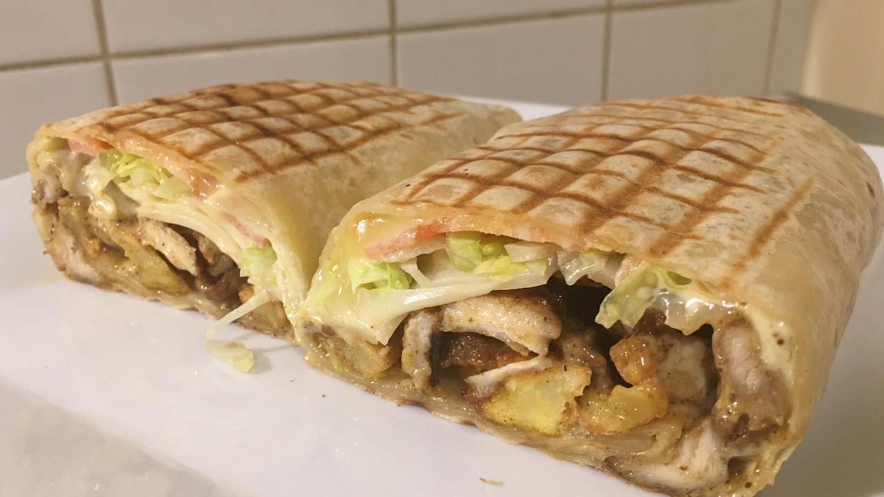 Tacos Kebab du dimanche (fait maison) - YouTube