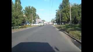 Улица Калинина в Полтаве: 2009 и 2012