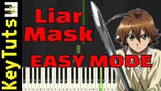 Video Learn to Play Liar Mask from Akame ga Kill! - Easy Mode download MP3, 3GP, MP4, WEBM, AVI, FLV Juni 2018