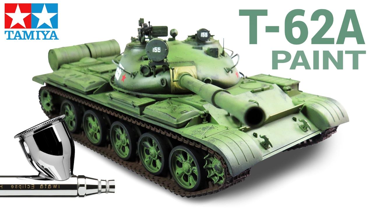 1:35 Russian T-62A Tank Tamiya Tamiya TAM35108