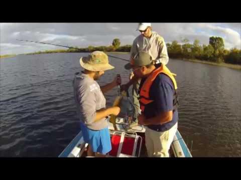 Programa N° 334 Fanaticos por la pesca, Dorados en el Santa Lucia, Empezando a pescar con Mosca