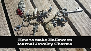 Video How to make Halloween Journal Jewelry Charms download MP3, 3GP, MP4, WEBM, AVI, FLV Juli 2018