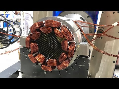 How To Make A AC Motor In China (AC Motor Making Process)