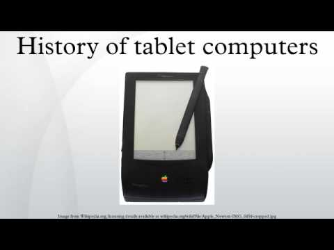 History of tablet computers