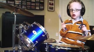 jaxon smith foo fighters pretender 6 yr old self taught drummer