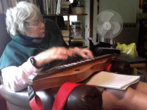 Dulcimer Sacred Harp Parting Hand