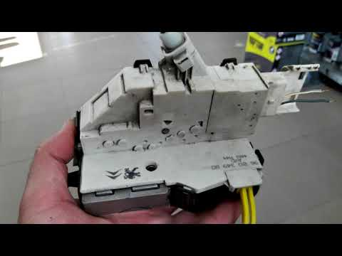 Fiat Scudo/Peugeot Expert/Citroen Jumpy 2007-2015 Ремонт и обслуживание дверного замка.