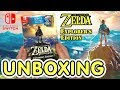 The Legend of Zelda Breath of the Wild Explorer's Edition (Switch) Black Friday Bundle Unboxing !!