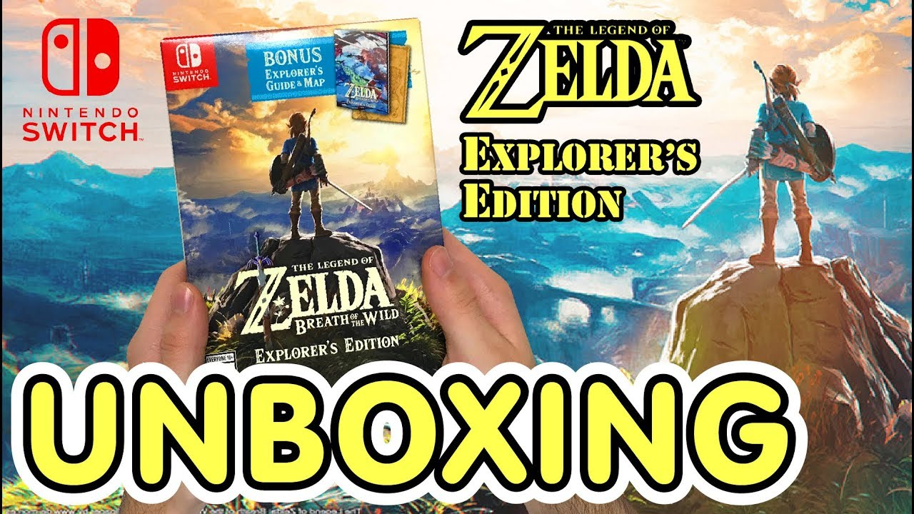 The Legend Of Zelda Breath Of The Wild Explorer S Edition