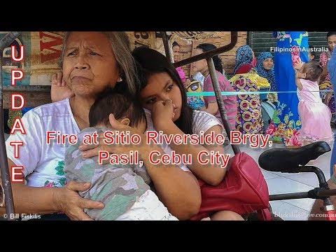 Update: Fire Sitio Riverside Barangay Pasil, Cebu City