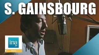 """Serge Gainsbourg enregistre """"Je suis venu te dire que je m"""