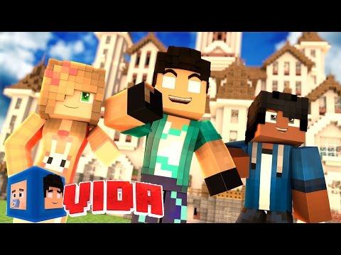 Minecraft : A MANSÃO NOVA DA FAMÍLIA! !!! #136 (MINECRAFT VIDA )