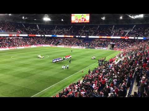 Himno Nacional del Perú - Peru vs Paraguay 2019 New Jersey