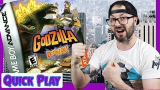 Godzilla: Domination Gameboy Advance Gameplay | Quick Play Russ Lyman