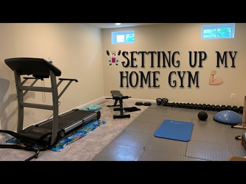 Setting Up My Gym | New House