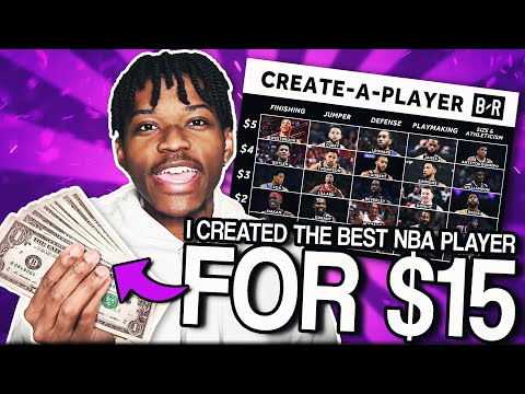 I Only Had $15 To Create The Best Nba Player And Was The Most Fun Ever