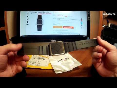 обзор и подключение пульта дистанционного управления  для Sjcam Sj8 Pro