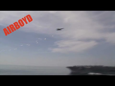 F/A-18 Supersonic Flyby