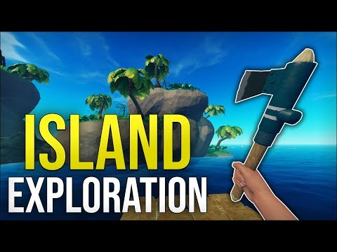 ISLAND EXPLORATION - Raft Solo Survival #2