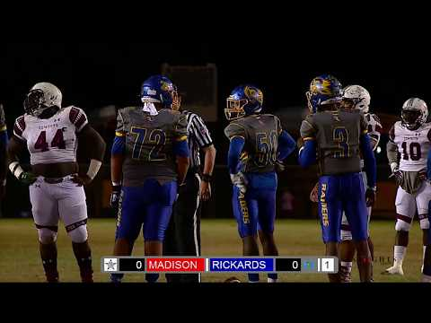Season II GOTW 11 11 2017 MADISON COUNTY @ RICKARDS